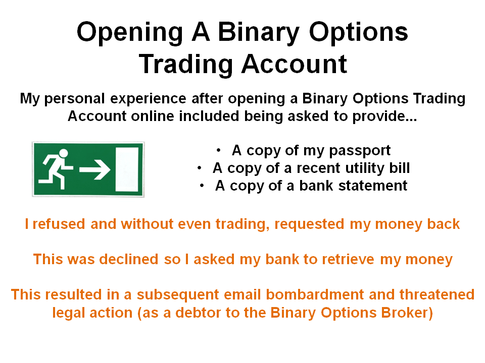binary options trading islamic account