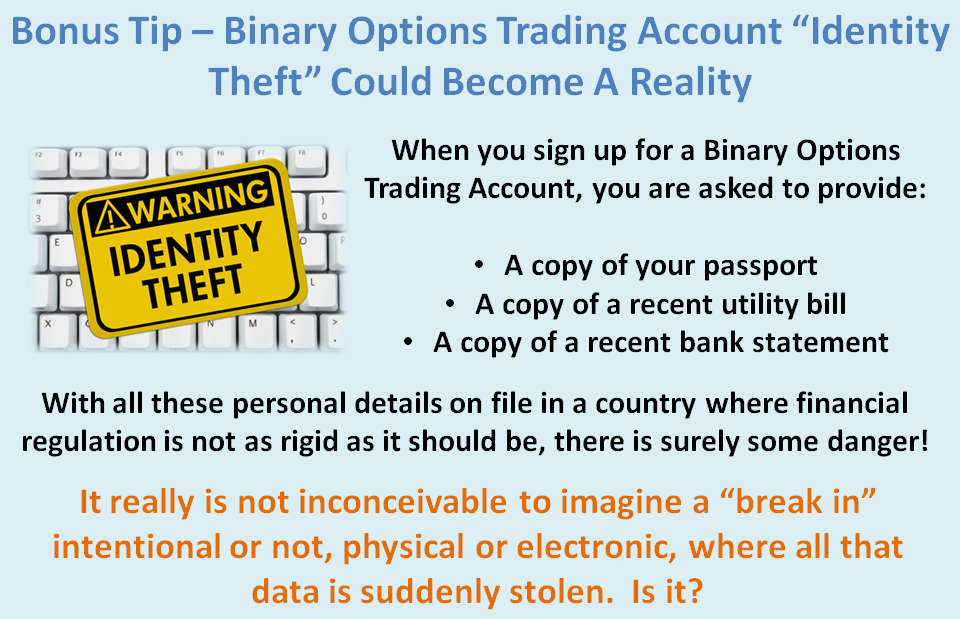 Binary option trading tips