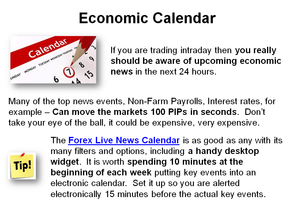 How to trade forex using economic calendar