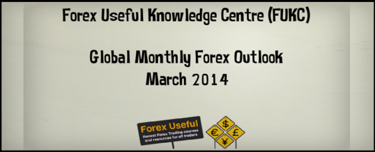 Global Monthly Forex Outlook - March 2014 538x218