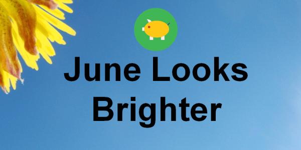 June Looks Brighter - 18-Jun-16