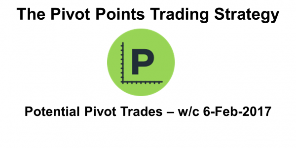 Potential Pivots Points Trading Opportunities For Week Commencing 5-Feb-17