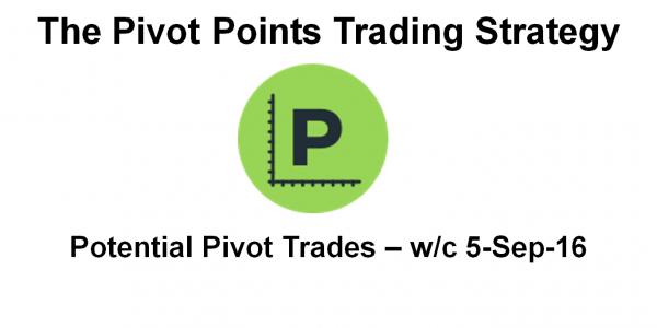 Potential Pivot Trades - 5-Sep-16