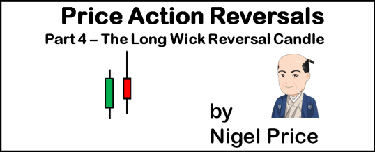 Price Action Reversals - Part 4 - The Long Wick Reversal Candle - by Nigel Price