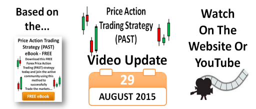 Price Action Trading - FREE PAST Update 29-Aug-15 538x218